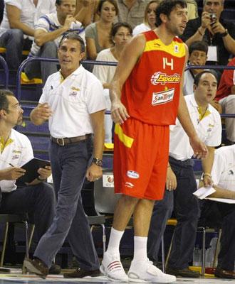 Scariolo debutó al frente de la selección.