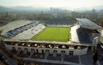 Estadio Velodrome en Marsella