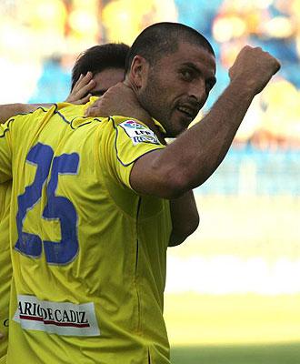 Diego Tristán metió el gol de los cadistas
