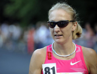 Paula Radcliffe, tras la prueba
