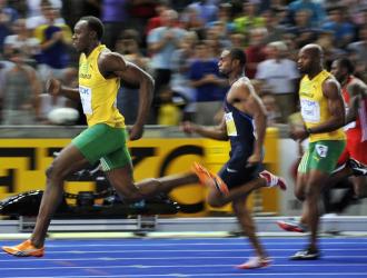 Bolt, Gay y Powell llegan a meta