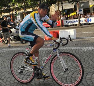 Lance Armstrong, heptacampeón del Tour de Francia