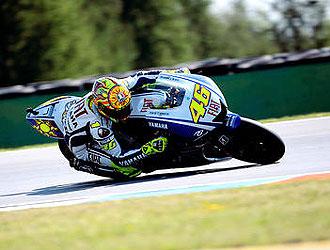 Rossi venci� y dio un golpe de autoridad en Brno.