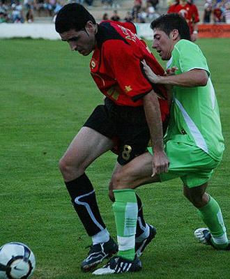 Imagen del encuentro disputado entre el Cieza y el Real Murcia