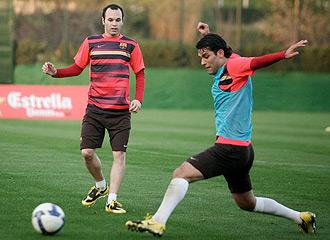 Márquez e Iniesta se preparan para estar en el inicio de la Liga