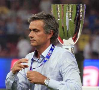 Mourinho, tras perder la Supercopa italiana