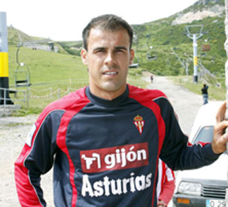 Mate Bilic, jugador del Sporting de Gij�n