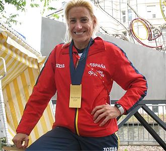 Marta Dom�nguez posa para MARCA.
