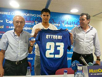 Aythami, presentado como nuevo jugador del Xerez
