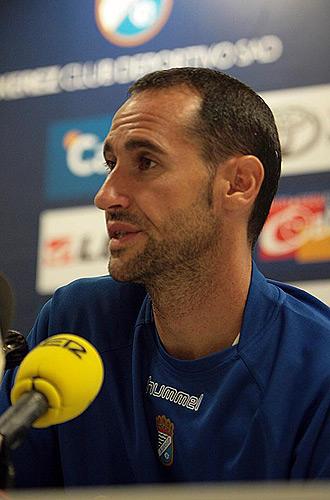 Vicente Moreno, durante una rueda de prensa