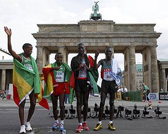 Doblete de Kenia en el maratón