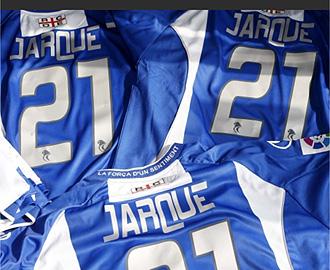 Las camisetas para homenajear a Jarque