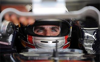 El joven piloto español de Toro Rosso, Jaime Alguersuari
