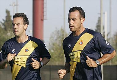 El Espanyol vuelve a la 'normalidad' tras el fallecimiento de Jarque