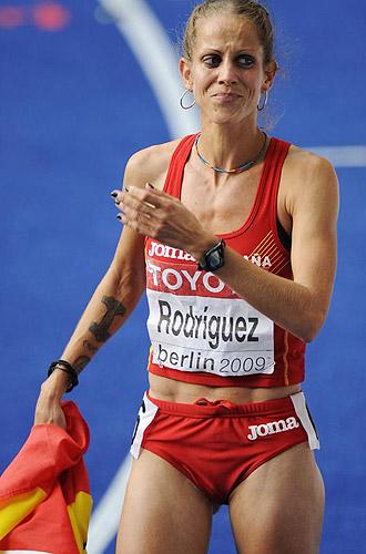 Natalia Rodríguez tras la polémica carrera