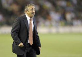Manolo Preciadom, entrenador del Sporting