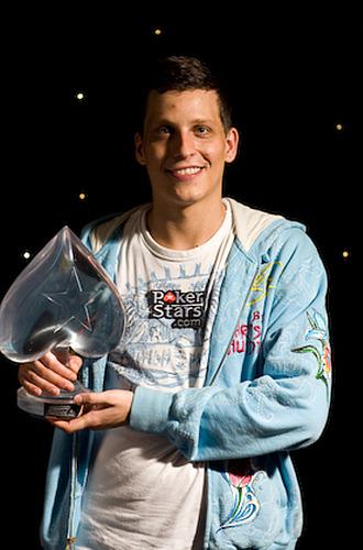 El ganador del �ltimo European Tour, Sebasti�n Ruthenberg.