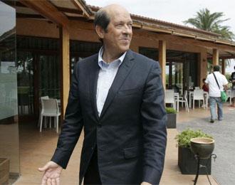 Manuel Llorente, en una comida con la directiva valencianista