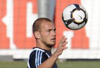 Wesley Sneijder, nuevo jugador del Inter de Milán