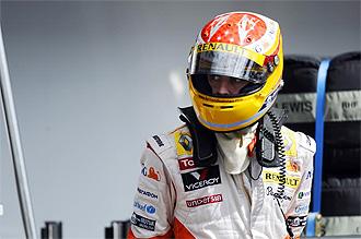El espa�ol Fernando Alonso.