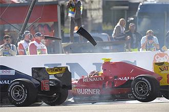 El accidente de Dani Clos en B�lgica.