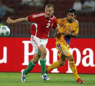 Ionel Daniel Danciulescu, en un partido con el Dynamo de Bucarest