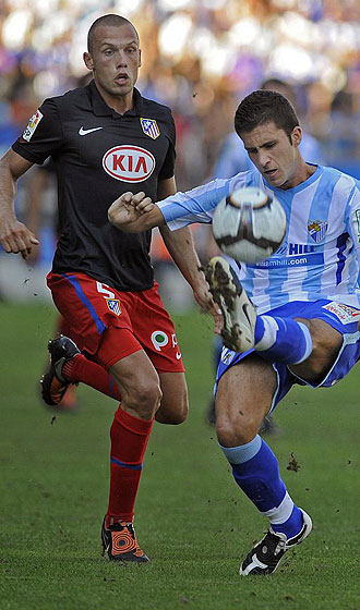 Heitinga, en su último partido con el Atlético