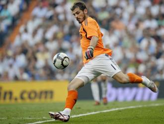 Iker, en el estreno contra el Deportivo