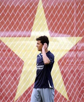Nilmar es el fichaje estrella del Villarreal.