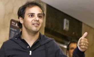 Felipe Massa, tras salir del hospital de Budapest