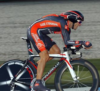 Valverde, en la Vuelta