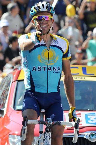 Alberto Contador en el pasado Tour de Francia.