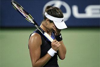 Ivanovic llora tras perder ante Katerina Bondarenko