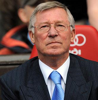Ferguson, entrenador del Manchester United