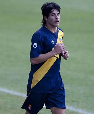 Roncaglia se entrena con el Espanyol