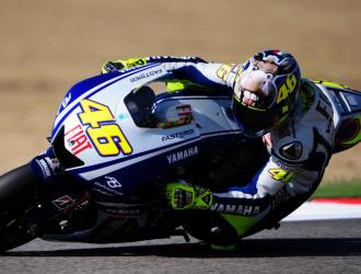 Rossi, con su nuevo casco, saldr� primero en Misano.