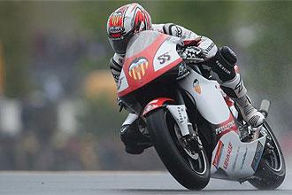H�ctor Faubel, durante el �ltimo Gran Premio de Francia.