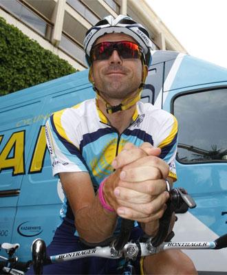 Haimar Zubeldia podr�a dejar el equipo Astana.