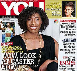 Portada de la revista Your con Semenya