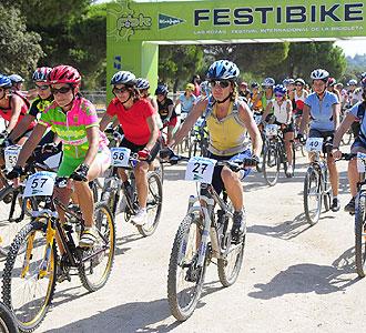 Un momento de la pasada edici�n del Festibike celebrado en Las Rozas.