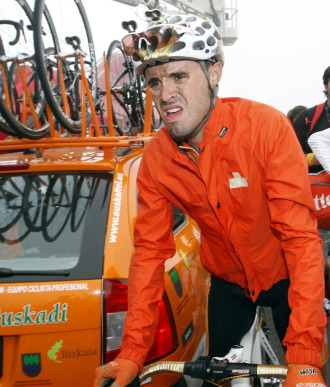 El ciclista espa�ol Samuel S�nchez