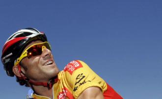 Valverde, líder de la Vuelta a España