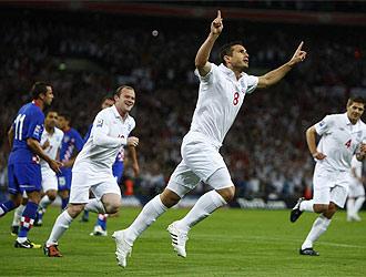Inglaterra ya está en el Mundial de Sudáfrica.