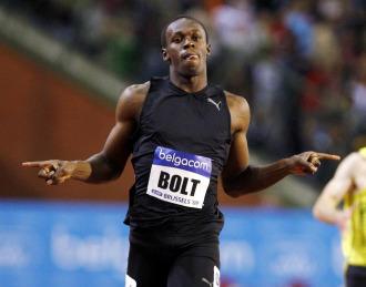 El alteta jamaicano Usain Bolt