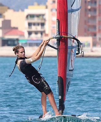 Marina Alabau, campeona del Mundo.