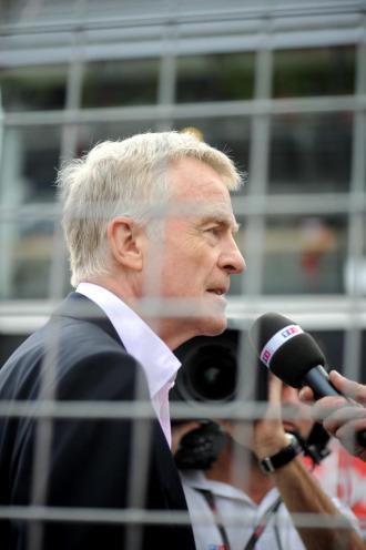 El presidente de la Federaci�n Internacional del Autom�vil (FIA), el brit�nico Max MosleY