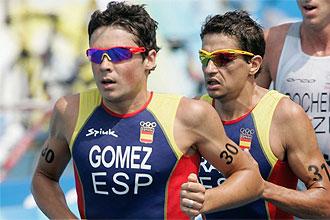 Gómez Noya, en los Juegos Olímpicos de Pekín