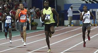 Bolt venció con autoridad en Salónica.