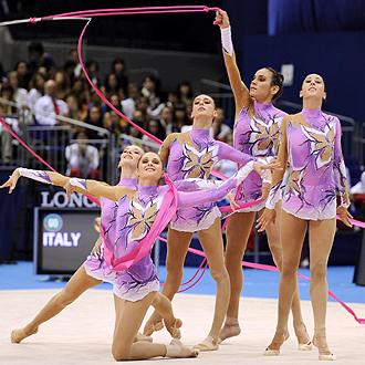 El conjunto italiano logró el oro con este ejercicio.