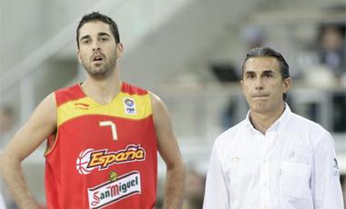 Juan Carlos Navarro y Sergio Scariolo